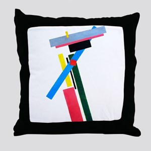 Malevich Abstract Rectangles Russian Throw Pillow