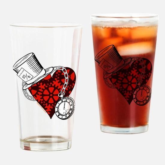 Steampunk Wonderland Drinking Glass