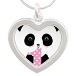 Panda Bear 1st Birthday Necklaces