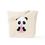 Panda Bear 1st Birthday Tote Bag
