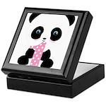 Panda Bear 1st Birthday Keepsake Box