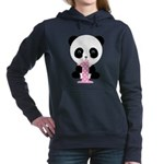 Panda Bear 1st Birthday Women's Hooded Sweatshirt