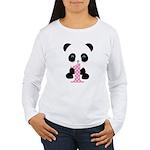 Panda Bear 1st Birthday Long Sleeve T-Shirt