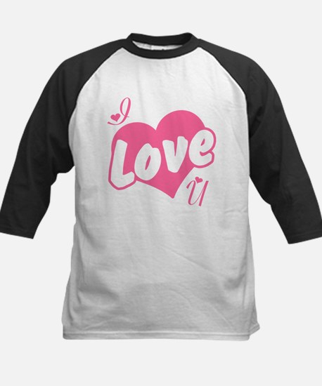 I Love You Kids Baseball Jersey