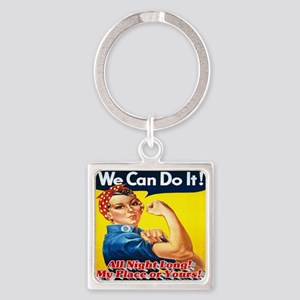 We Can Do It! All Night Long! My P Square Keychain