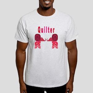 Quilter Pink Elephants t-shir Light T-Shirt