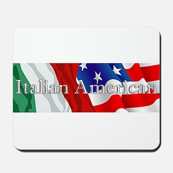 Italian American Logo Mousepad