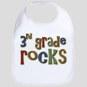 3rd Grade Rocks Third School Bib