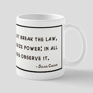 Julius Caesar Quote Mugs