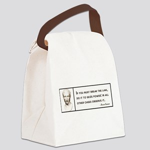 Julius Caesar Quote Canvas Lunch Bag