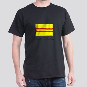 South Vietnam - Flag Dark T-Shirt