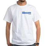 Mid City New Orleans Street Tile White T-Shirt