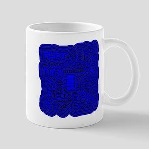 Slut (Blue Design) Mugs