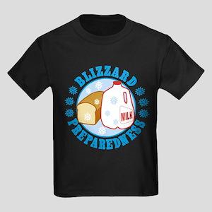 Bread And Milk Blizzard Preparedness T-Shirt