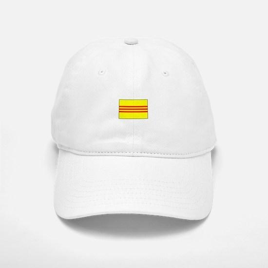 South Vietnamese Flag Baseball Baseball Cap