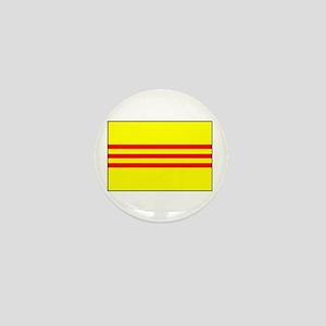 South Vietnamese Flag Mini Button