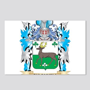 O'Connell Coat of Arms - Postcards (Package of 8)
