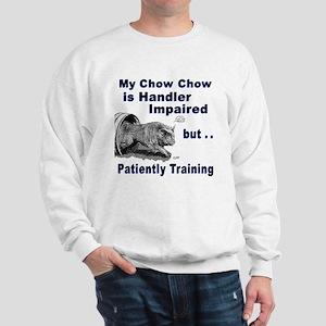 Chow Chow Agility Sweatshirt