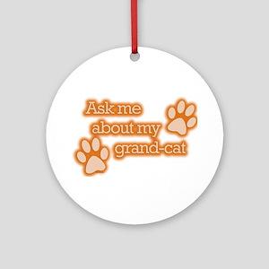 Grandcat Ornament (Round)