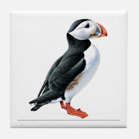 Atlantic Puffin Tile Coaster