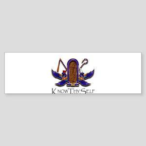 Knowthyself Logo Bumper Sticker