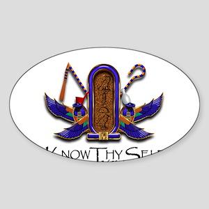 Knowthyself Logo Sticker