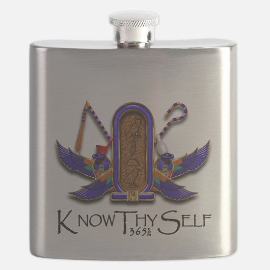Knowthyself Logo Flask