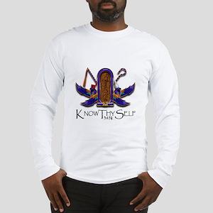 Knowthyself Logo Long Sleeve T-Shirt