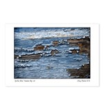 Oyster Blue Tomales Bay Postcards (package Of 8)