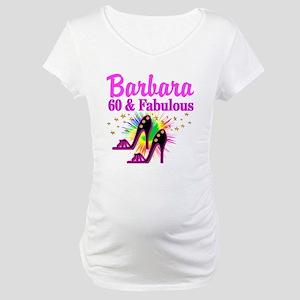 GLAMOROUS 60TH Maternity T-Shirt