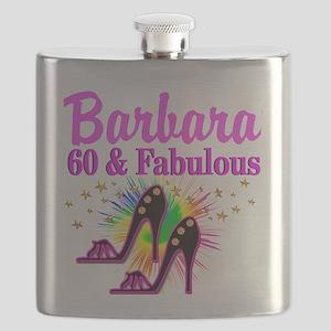 GLAMOROUS 60TH Flask