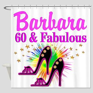 GLAMOROUS 60TH Shower Curtain