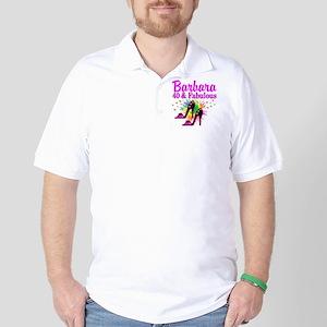 GLAMOROUS 40TH Golf Shirt