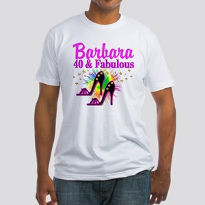 GLAMOROUS 40TH Fitted T-Shirt