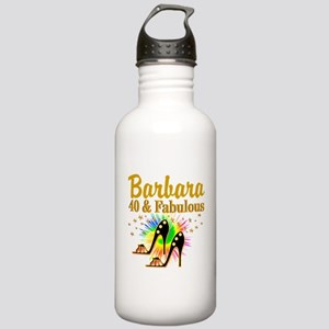 GLAMOROUS 40TH Stainless Water Bottle 1.0L