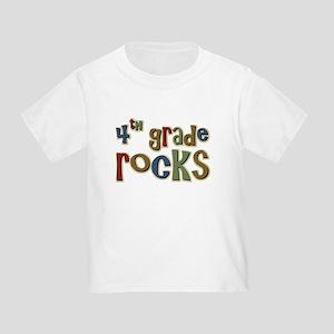 4th Grade Rocks Fourth School Toddler T-Shi