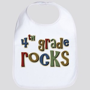 4th Grade Rocks Fourth School Bib