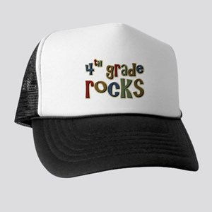 4th Grade Rocks Fourth School Trucker Hat