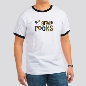 4th Grade Rocks Fourth School Ringer T
