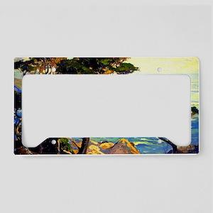Bischoff - A Lonely Headland, License Plate Holder