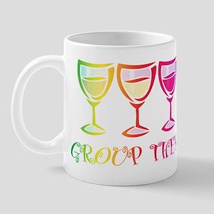 Wine Group Therapy 2 Mug