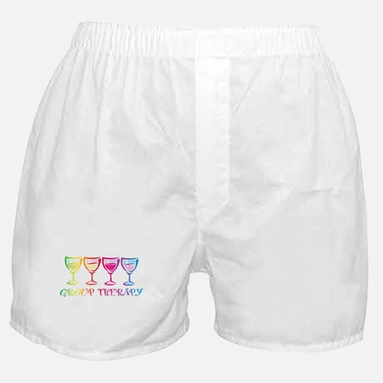 Wine Group Therapy 2 Boxer Shorts