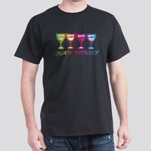 Wine Group Therapy 2 Dark T-Shirt