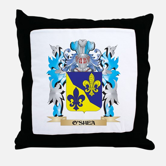 O'Shea Coat of Arms - Family Crest Throw Pillow
