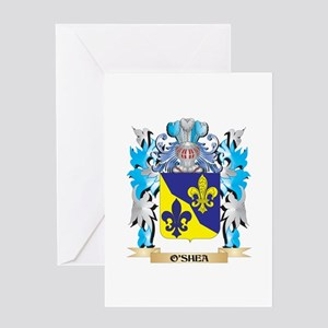 O'Shea Coat of Arms - Family Crest Greeting Cards