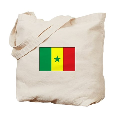 Senegal Flag - Gambia Tote Bag