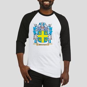 Oswalt Coat of Arms - Family Crest Baseball Jersey