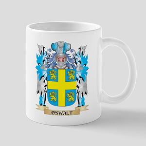 Oswalt Coat of Arms - Family Crest Mugs