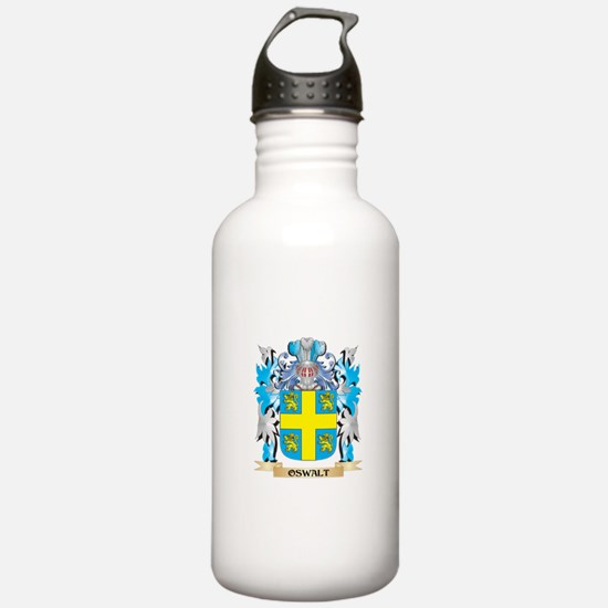 Oswalt Coat of Arms - Water Bottle
