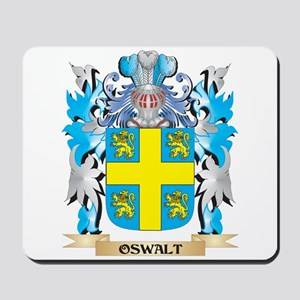 Oswalt Coat of Arms - Family Crest Mousepad